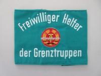 Armbinde Freiwilliger Helfer der Grenztruppen DDR