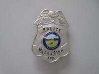 Badge Police Walkerton, State of Indiana