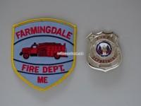 Badge Fire Department Farmingdale