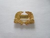 """Police Pin """" Chief """""""