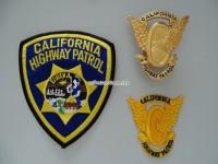 California Highway Patrol Metallabzeichen / Badge