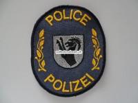 Patch / Stoffabzeichen Polizei Interlaken