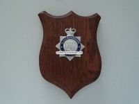 Britisches Police Emblem Gloucestershire Constabulary