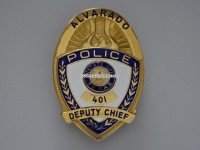 Dienstmarke / Badge Police Alvarado, Texas, Deputy Chief