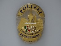 Dienstmarke / Badge IPA, Polizei Düsseldorf