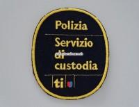 Patch / Stoffabzeichen Polizia Ticino