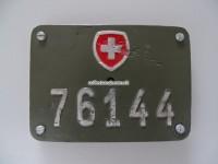 Schweizer Armee Fahrrad Nummer 76144