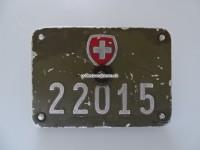 Schweizer Armee Fahrrad Nummer 22015 mit Halterung