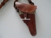 Lederetui zu Schweizer Ordonnanz Revolver, Model 1882 und 1929, gefertigt 1938
