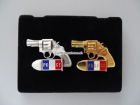 Pins Manurhin Police Revolver MR73