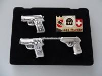 Polizei Pin Set Bern Polizei-Waffen