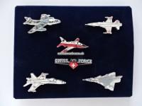Pin Set, Swiss Airforce, 6-teilig