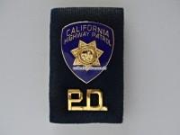 California Highway Patrol Pin Set