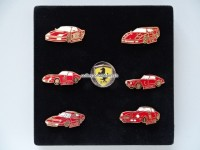 Ferrari Pin Set