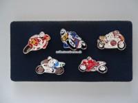 Motorrad Pin Set, 5-teilig