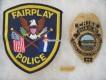 Metall Badge, Chief, Fairplay Police Dept. Colorado