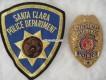 Metall Badge, Patrolman, Santa Clara Police, New Mexico
