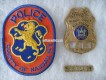 Metall Badge, Sergeant, Nassau County Aux. Police