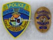Metall Badge Police Officer, Youngtown, Arizona